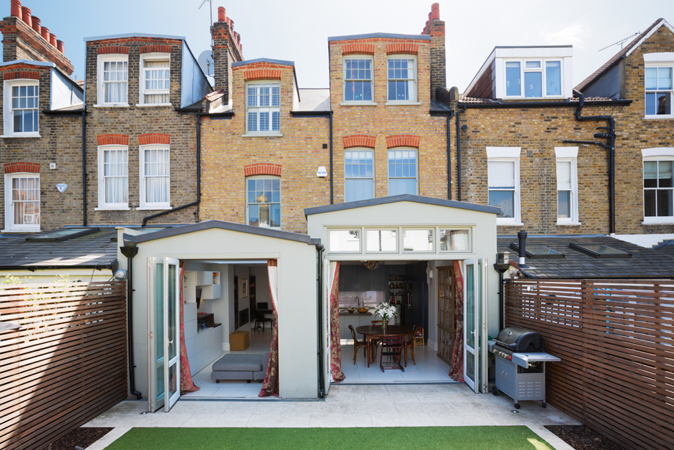 extension, stepped extension, London home