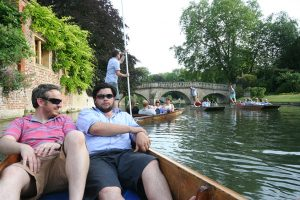 Granit Architects Punting in cambridge