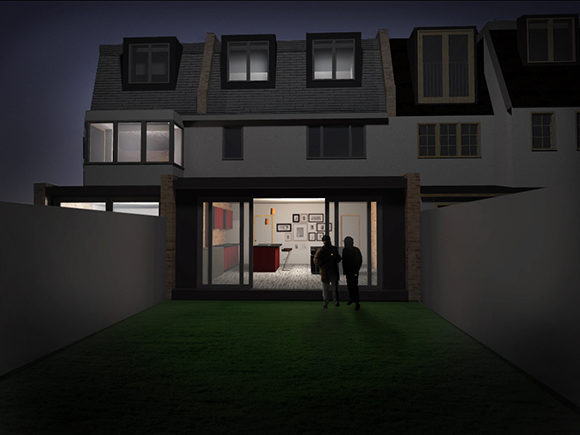 Montan Road rear render night