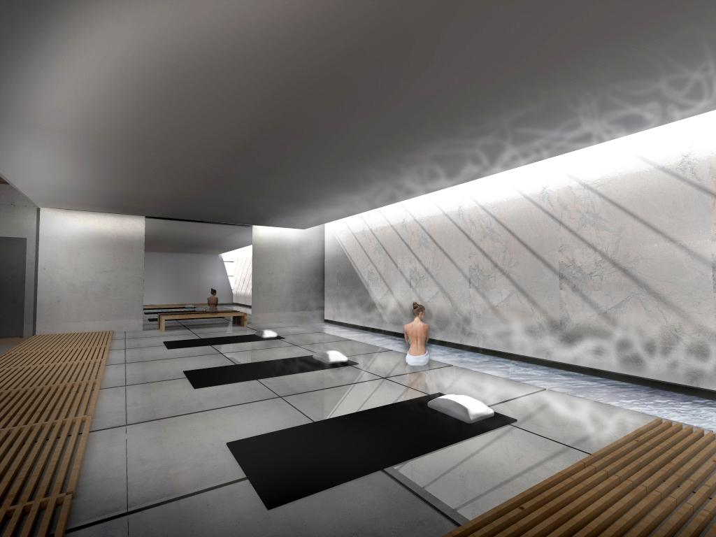 Pool interior wall