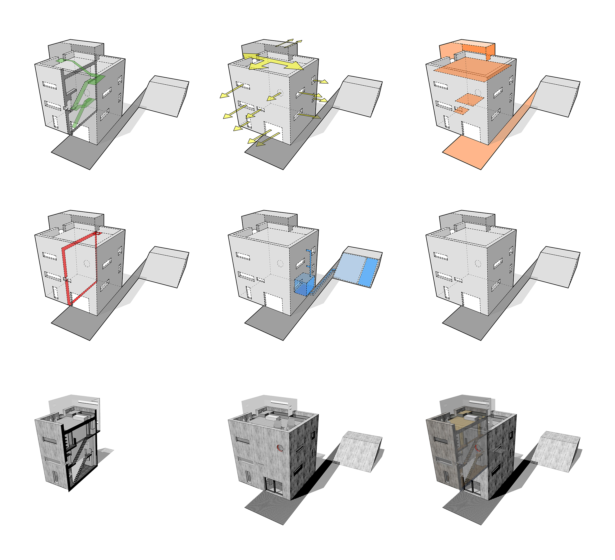 Passivhaus diagrams