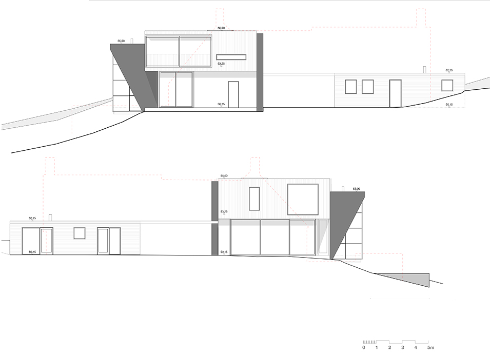 Planning Consent for a Contemporary House Near Farnham