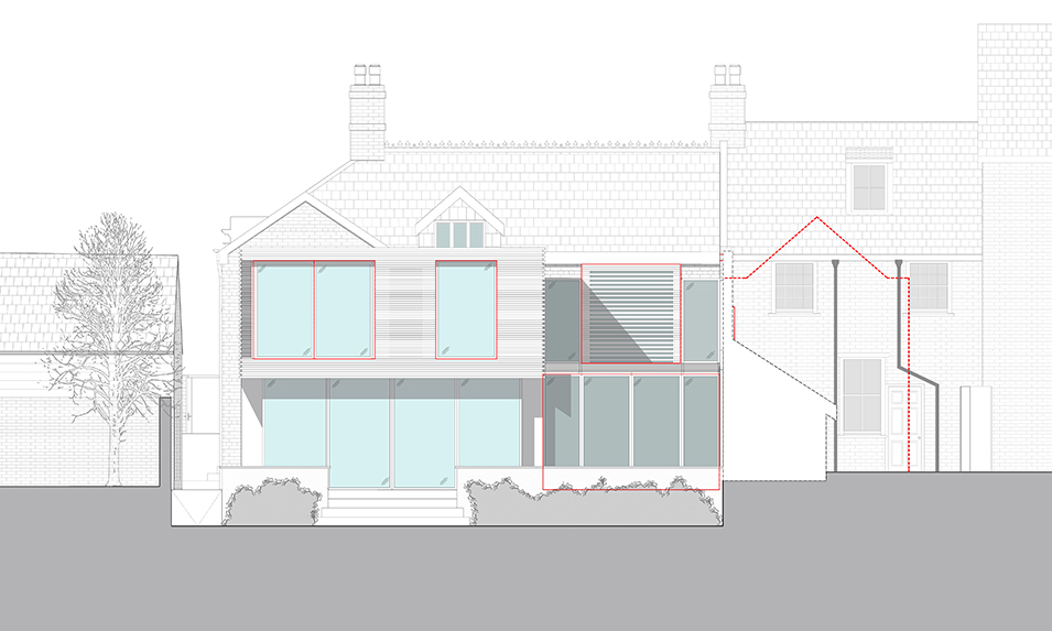 Rear Elevation Rear Elevation _