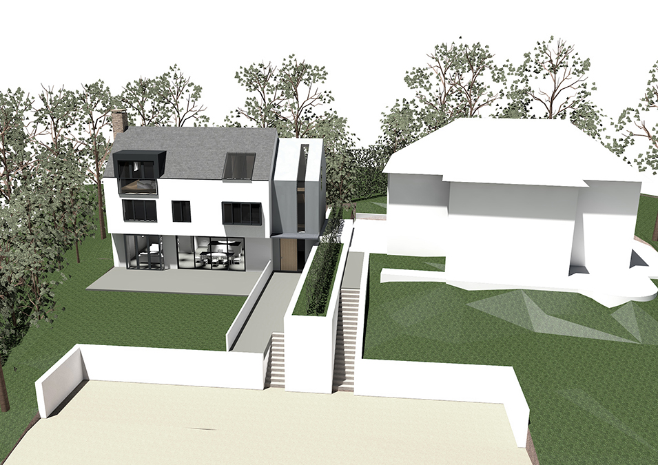 New build house in Wimbledon Durrington Park