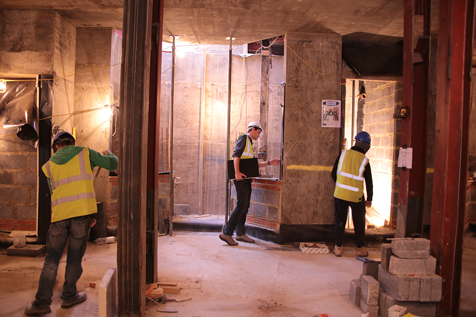 Basement design and fit out