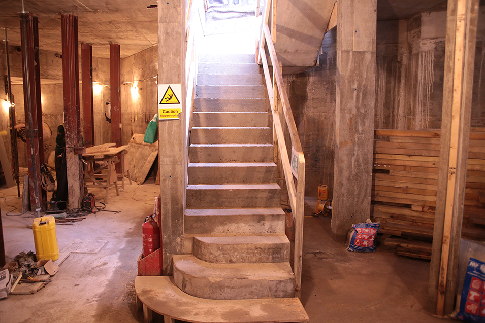 Basement conversion staircase