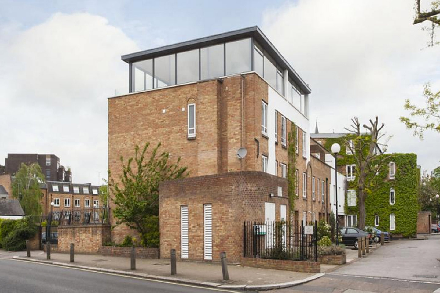Air rights development example in Wandsworth