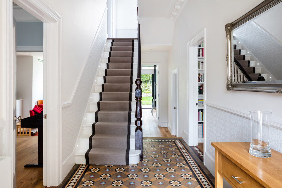interior design trends with tiles