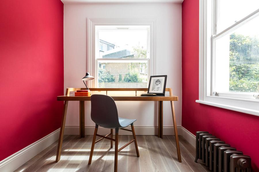 interior design using red
