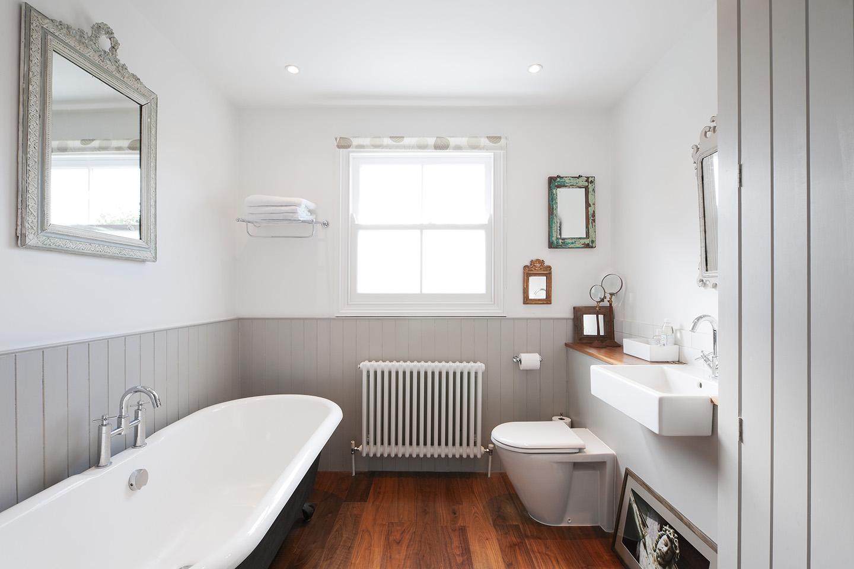 Дизайн ванной в панелях