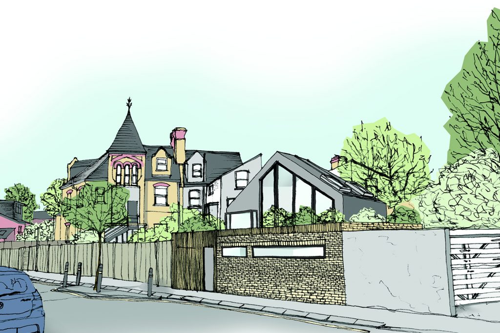 Planning Permission in Wandsworth for a New Build House
